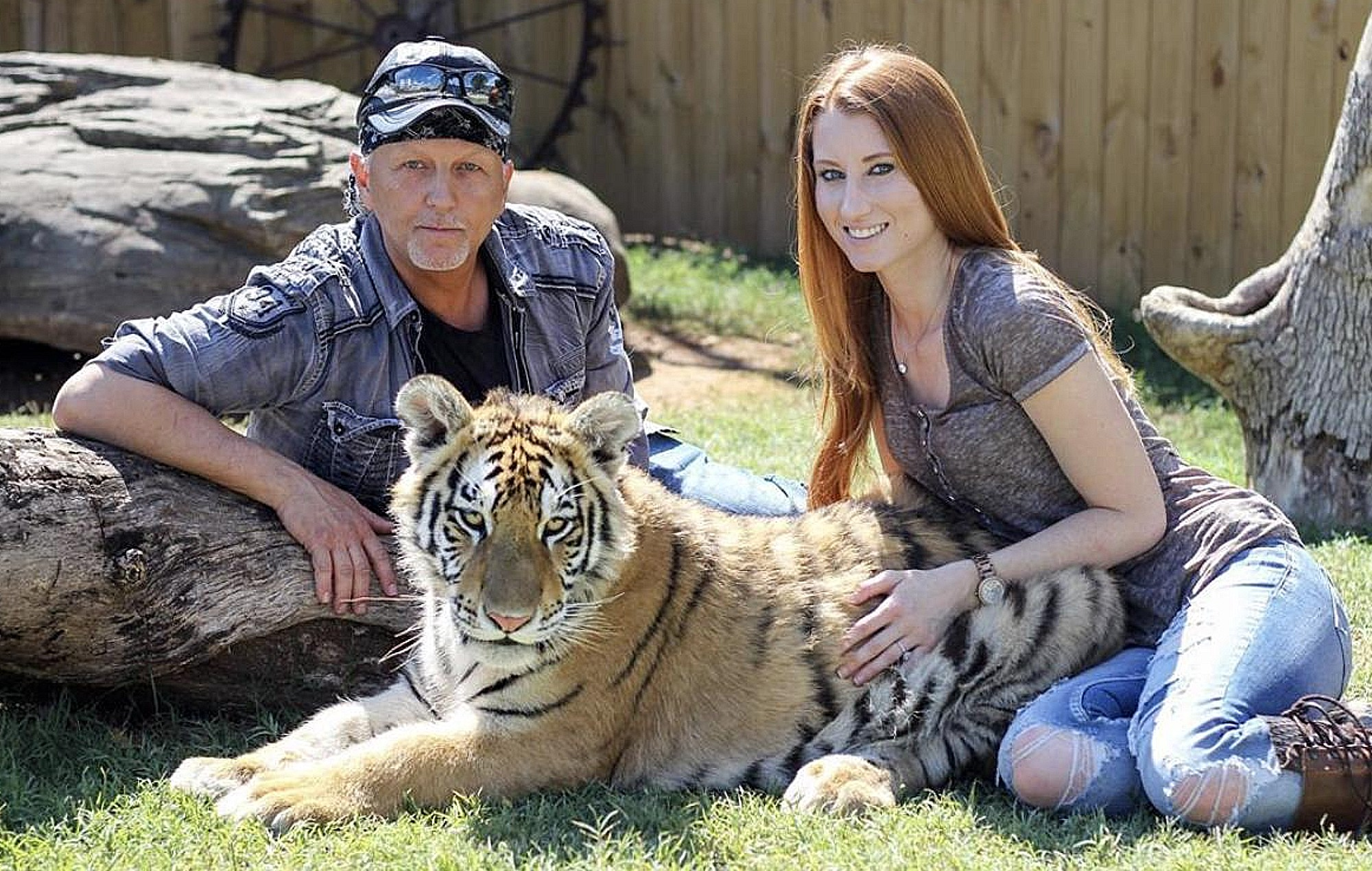 Tiger King Jeff Lowe and Lauren Dropla