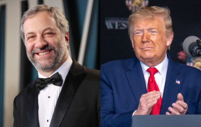 Judd Apatow and Donald Trump