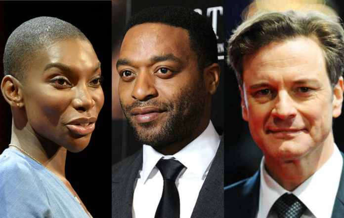 Michaela Coel Chiwetel Ejiofor Colin Firth