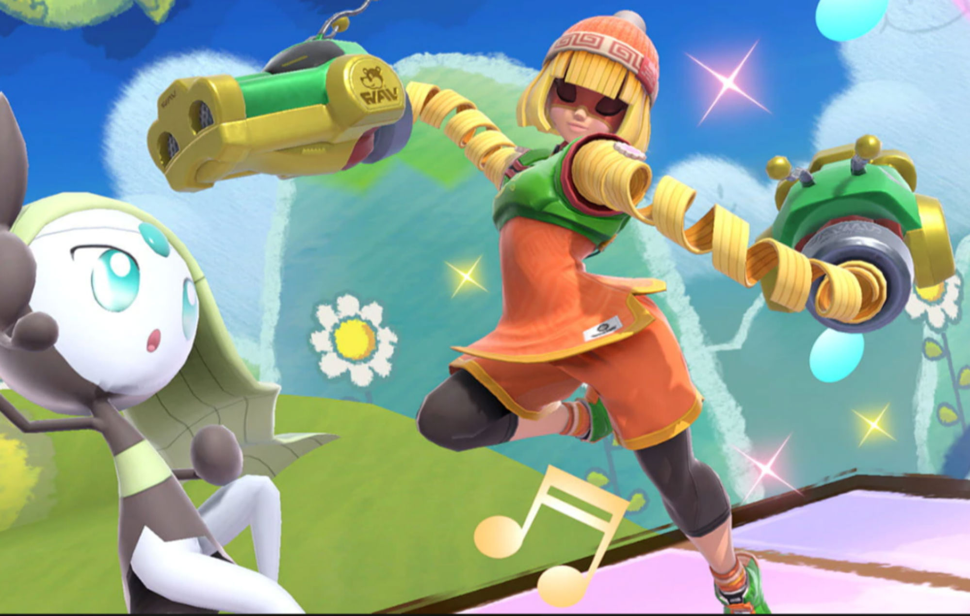 The 'Super Smash Bros.' fighter from 'ARMS' has finally been revealed