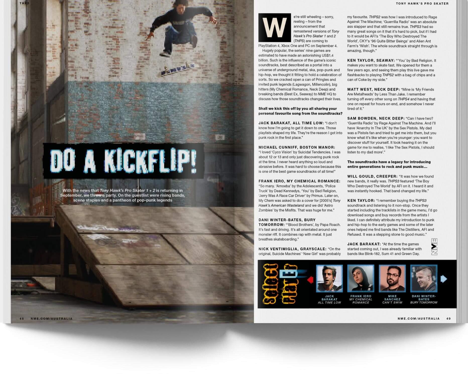 NME Australia 07 - THPS 1 +2