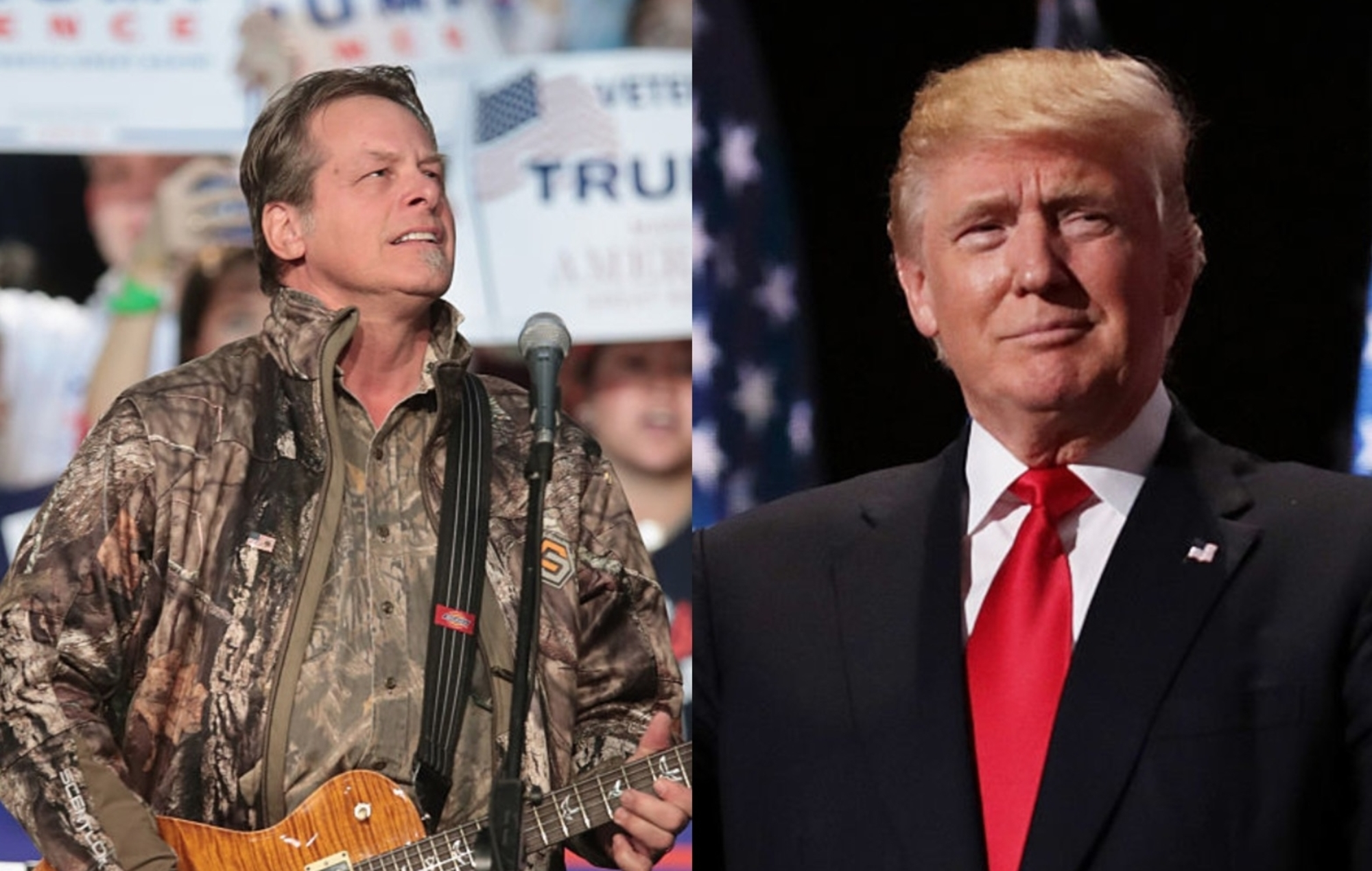 Ted Nugent Says Donald Trump Was Sent Here By God