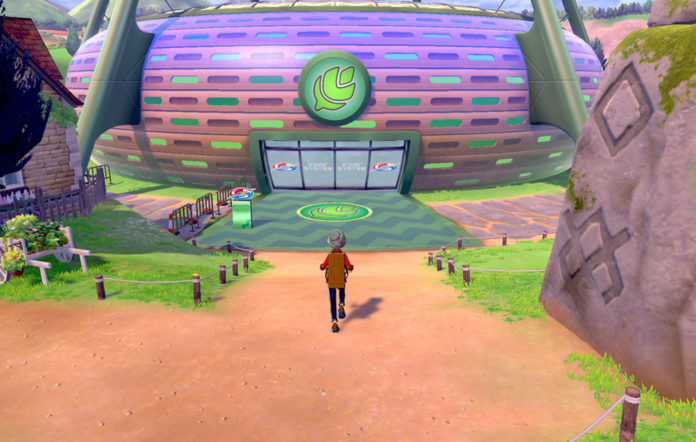 Pokemon Sword Shield Gym