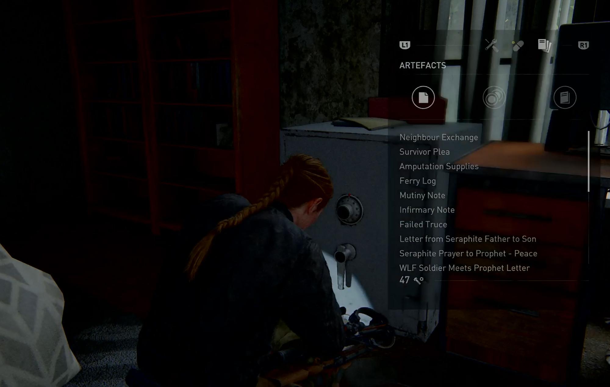 Last Of Us II Safe 13