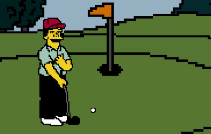 'The Simpsons' Lee Carvallo's Putting Challenge