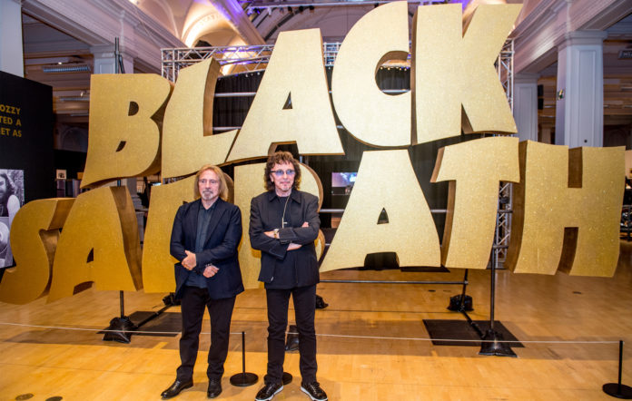 Black Sabbath Geezer Butler Tony Iommi Birmingham exhibit