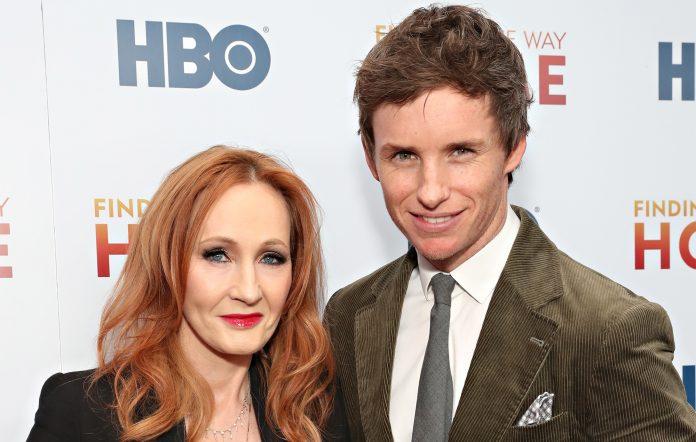 J.K. Rowling Eddie Redmayne