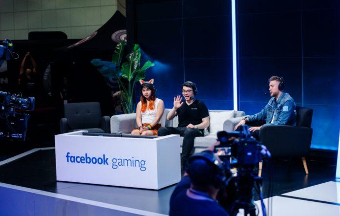 Facebook Gaming panel