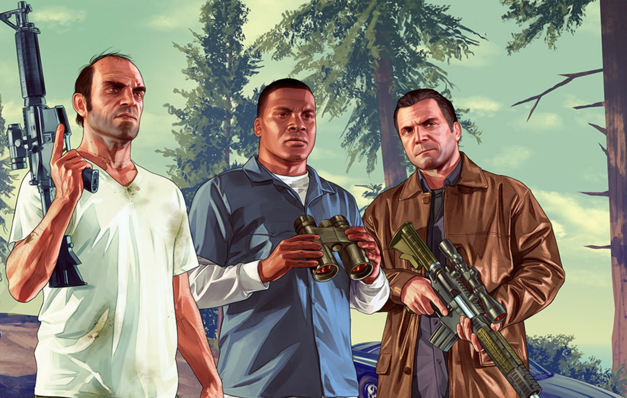 Gta V Will Be Enhanced And Expanded For The Playstation 5