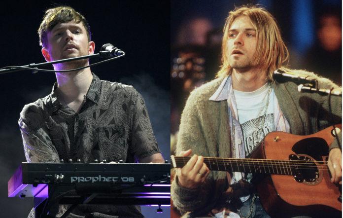 James Blake, Nirvana, Kurt Cobain