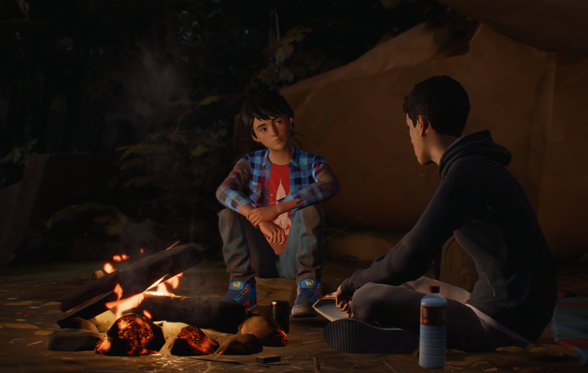 A screenshot from Life Is Strange 2