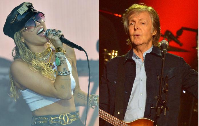 Miley Cyrus, The Beatles, Paul McCartney