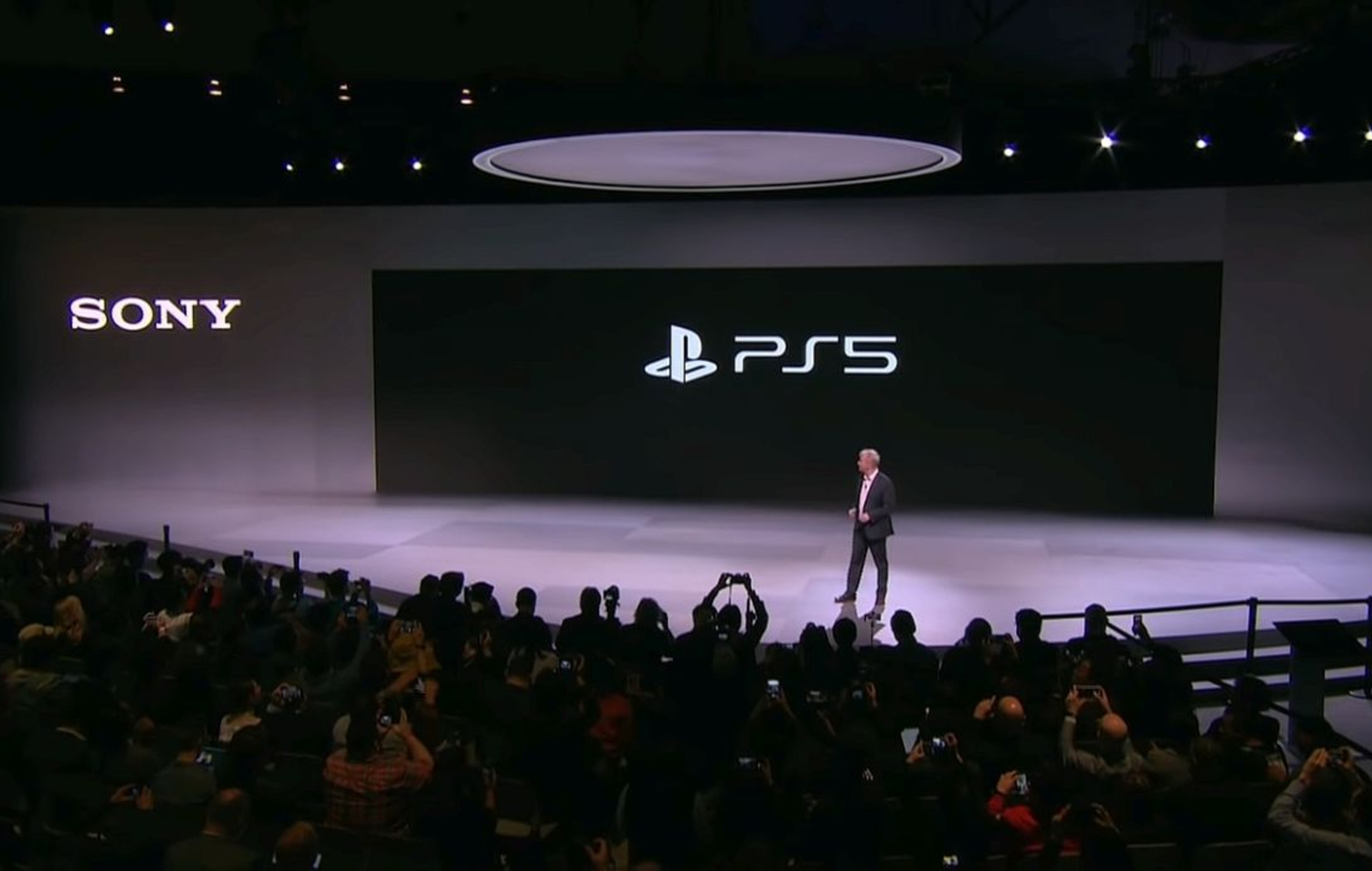 Sony's PS5 event earlier this year