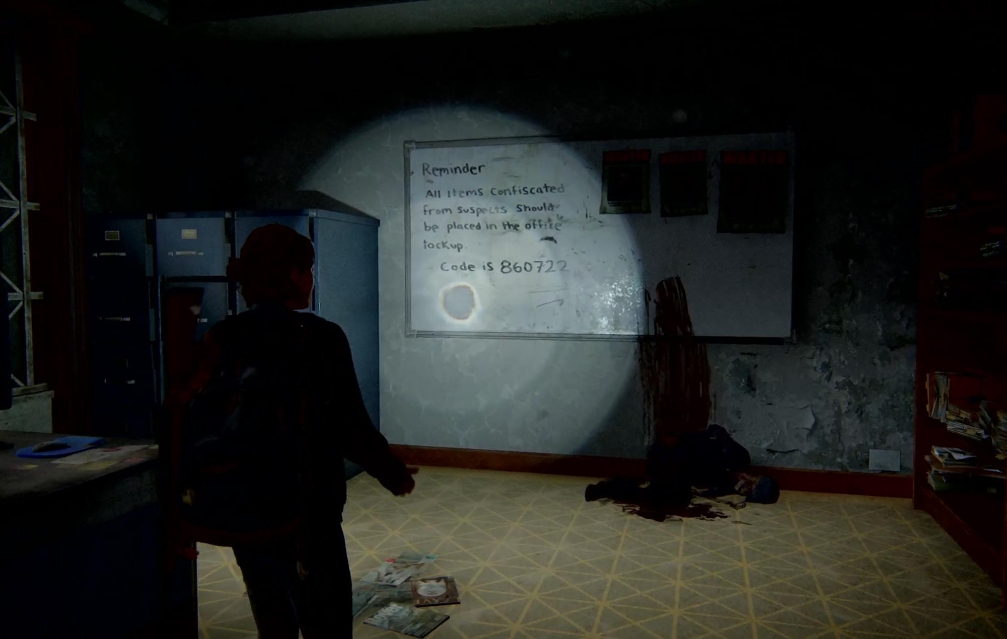 Last Of Us II Safe 4