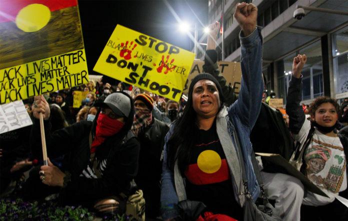 Sydney Black Lives Matter protest George Floyd June 2020