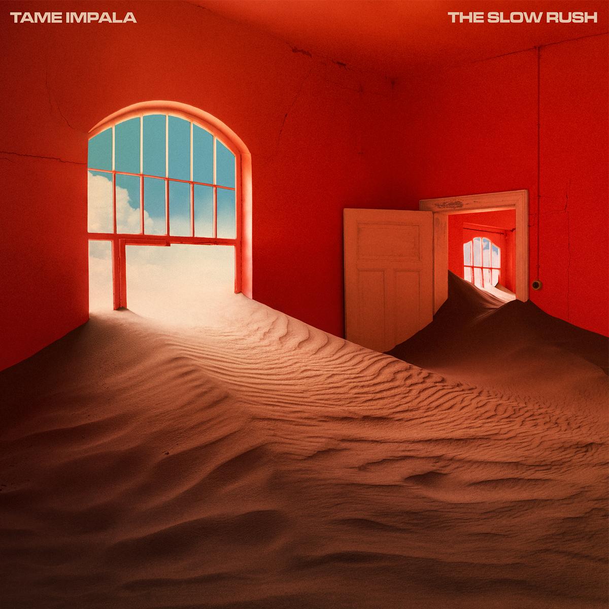 Tame Impala album art The Slow Rush