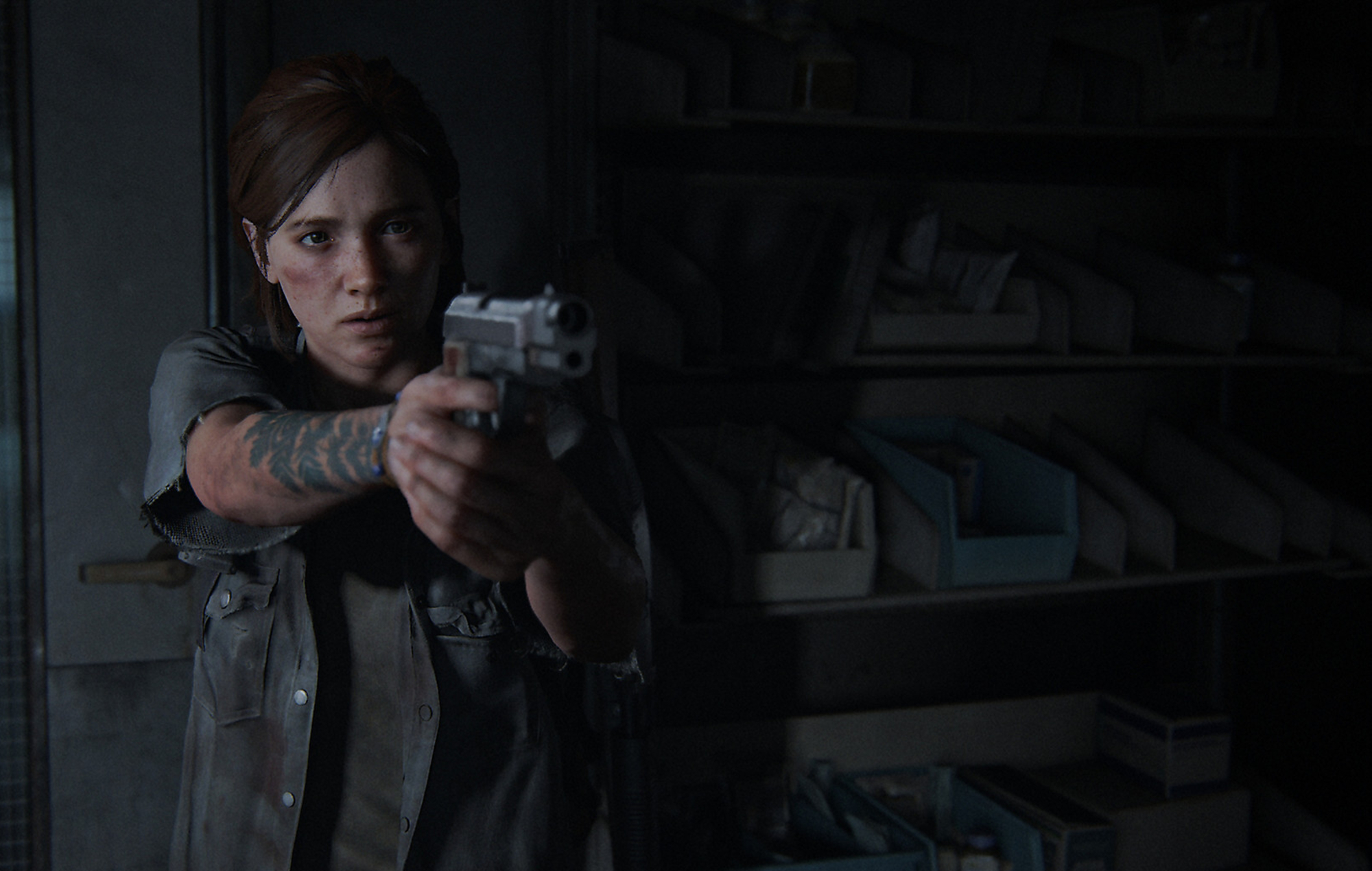 Ellie in The Last Of Us Part II