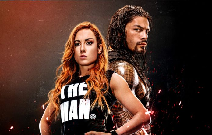 Becky Lynch and Roman Reigns