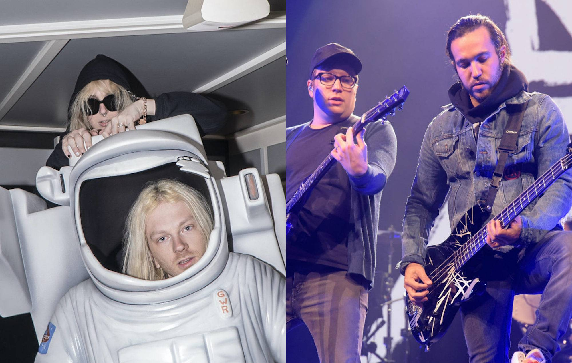 100 Gecs discuss collaborating with Fall Out Boy on new album