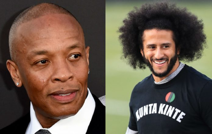 Dr Dre and Colin Kaepernick