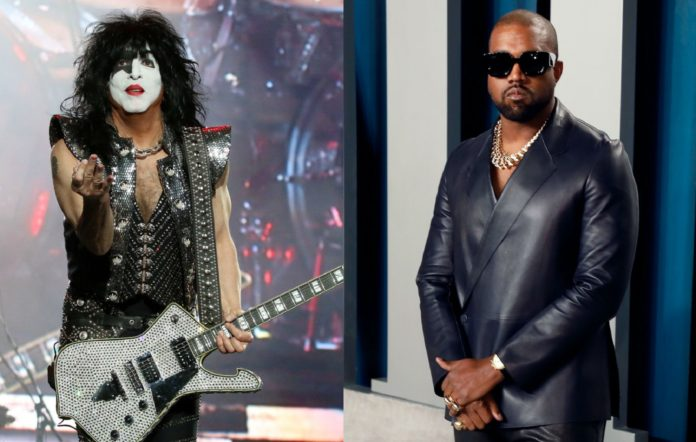 Kiss frontman Paul Stanley and Kanye West