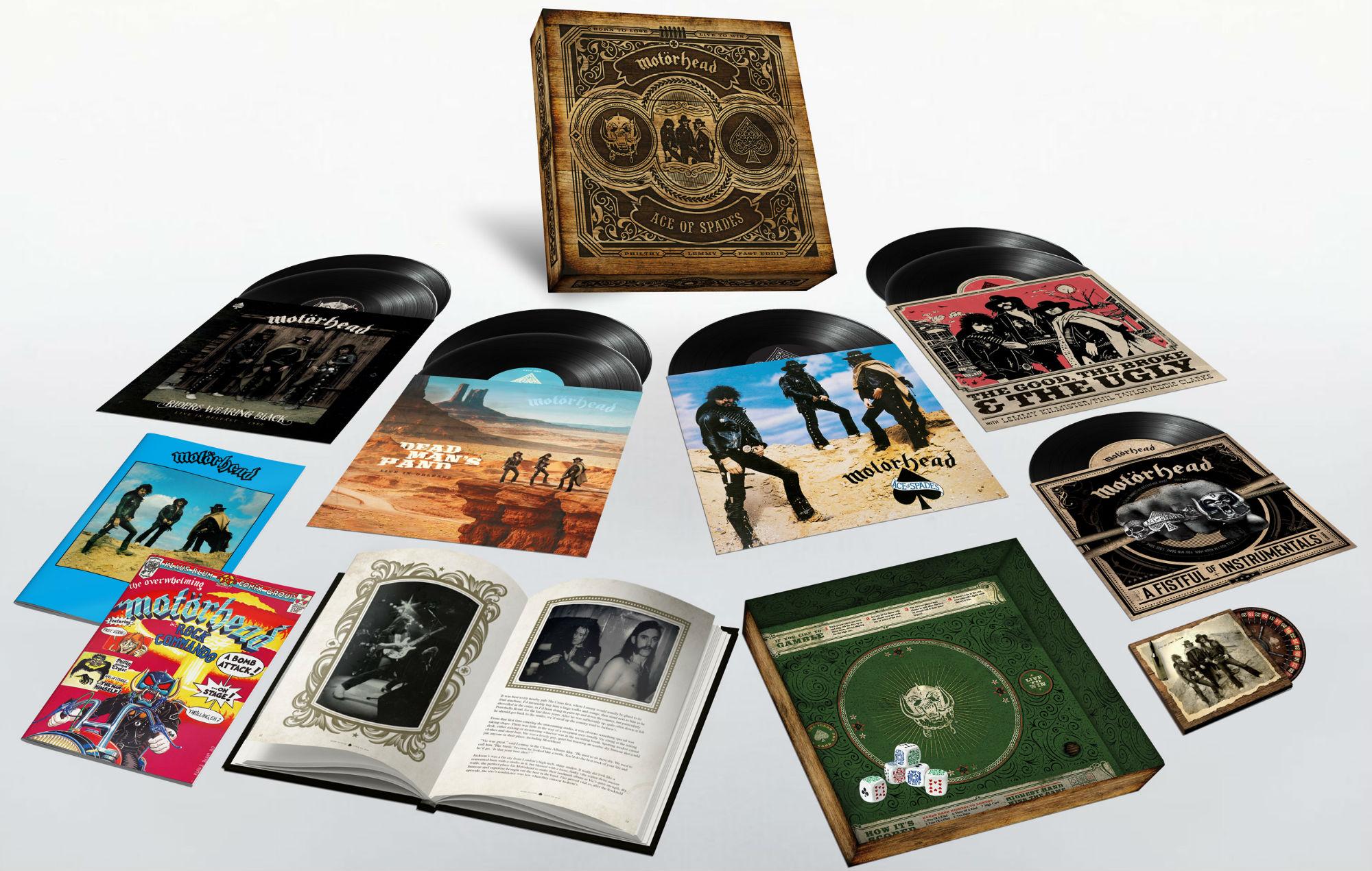 Motörhead's 'Ace Of Spades' box set