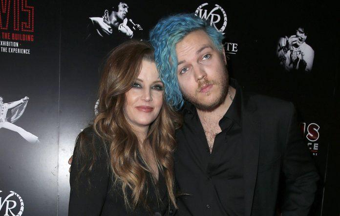 Benjamin Keough and Lisa Marie Presley in 2015.