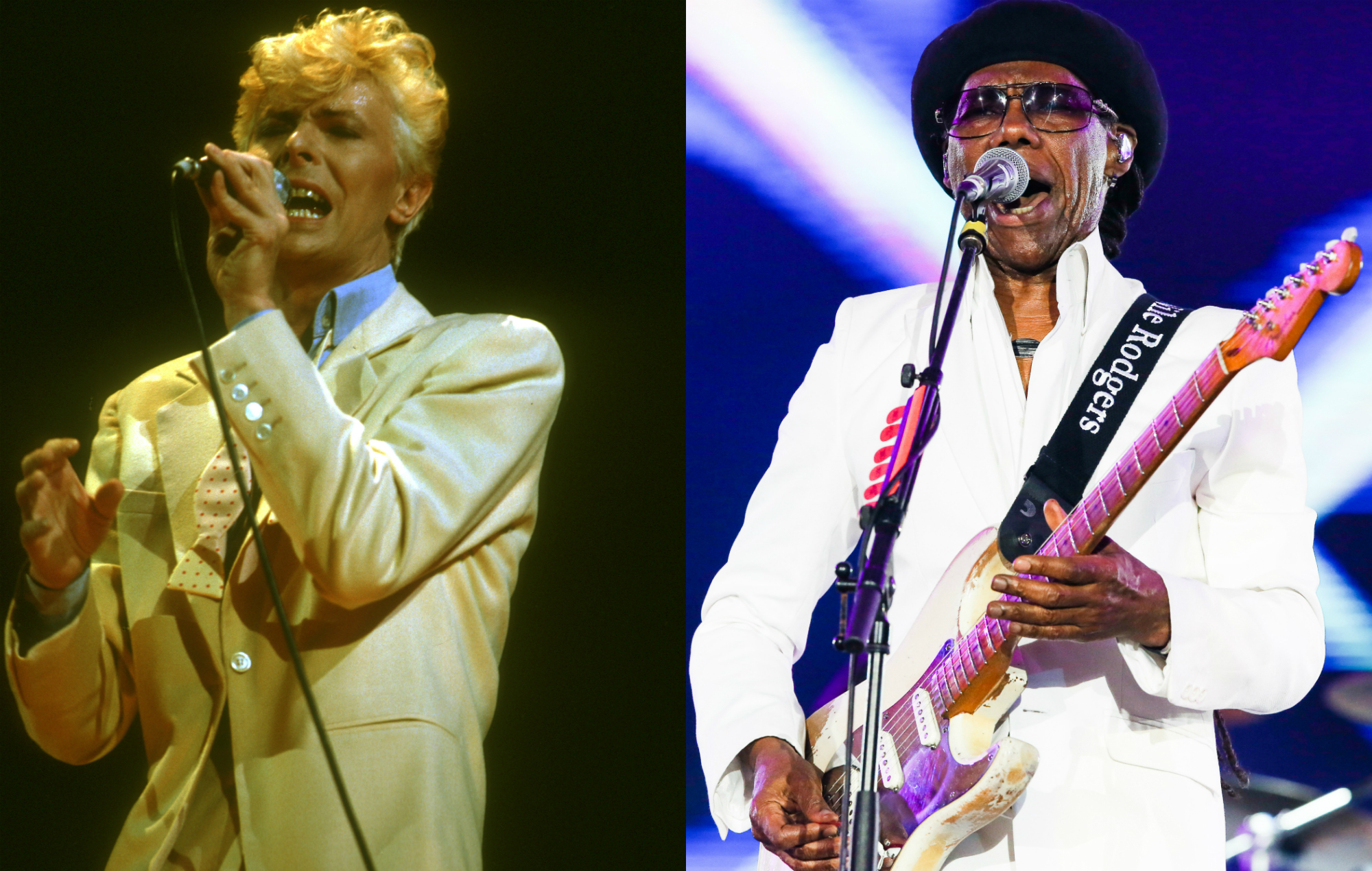 """Nile Rodgers envied David Bowie for """"never worrying"""" which race would listen to his music"""