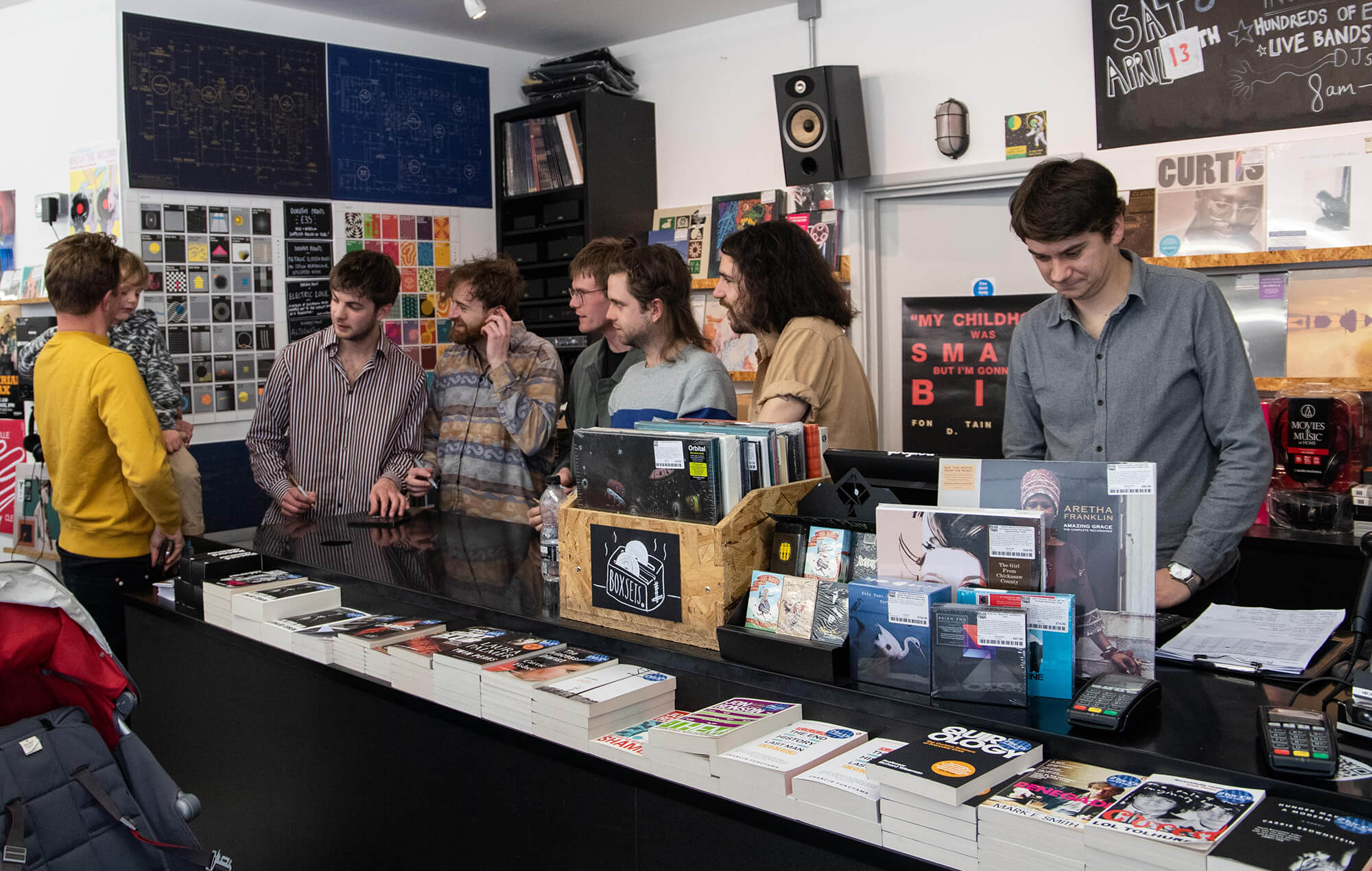Fontaines DC signing records at Rough Trade