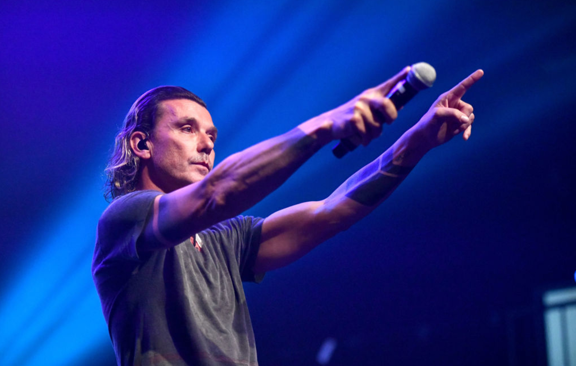 Gavin Rossdale says he used to be disappointed that Bush didn't have a big UK fanbase