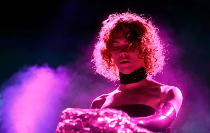 SOPHIE performing at Coachella 2019