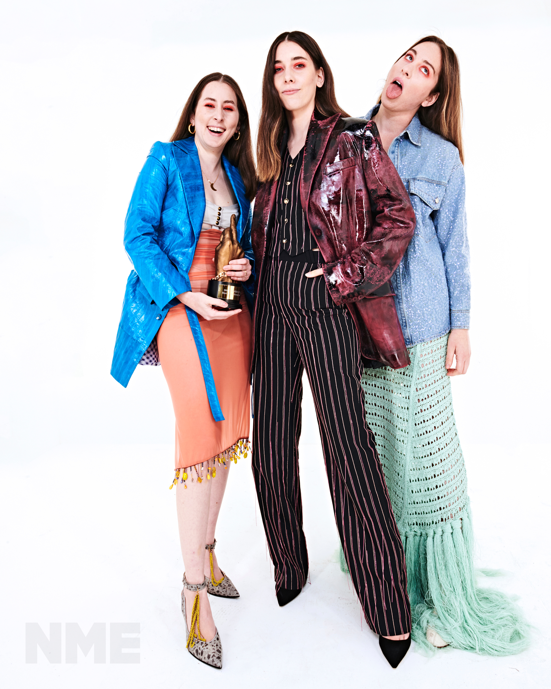 Haim at the NME Awards 2018