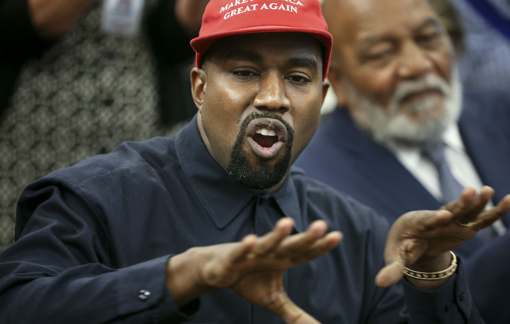 """Kanye West's 2020 presidential campaign is reportedly being """"backed by members of the GOP"""""""
