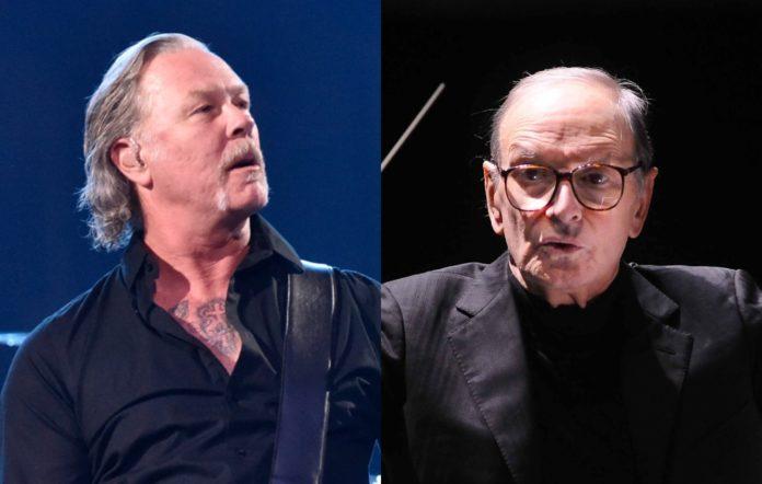 James Hetfield and Ennio Morricone