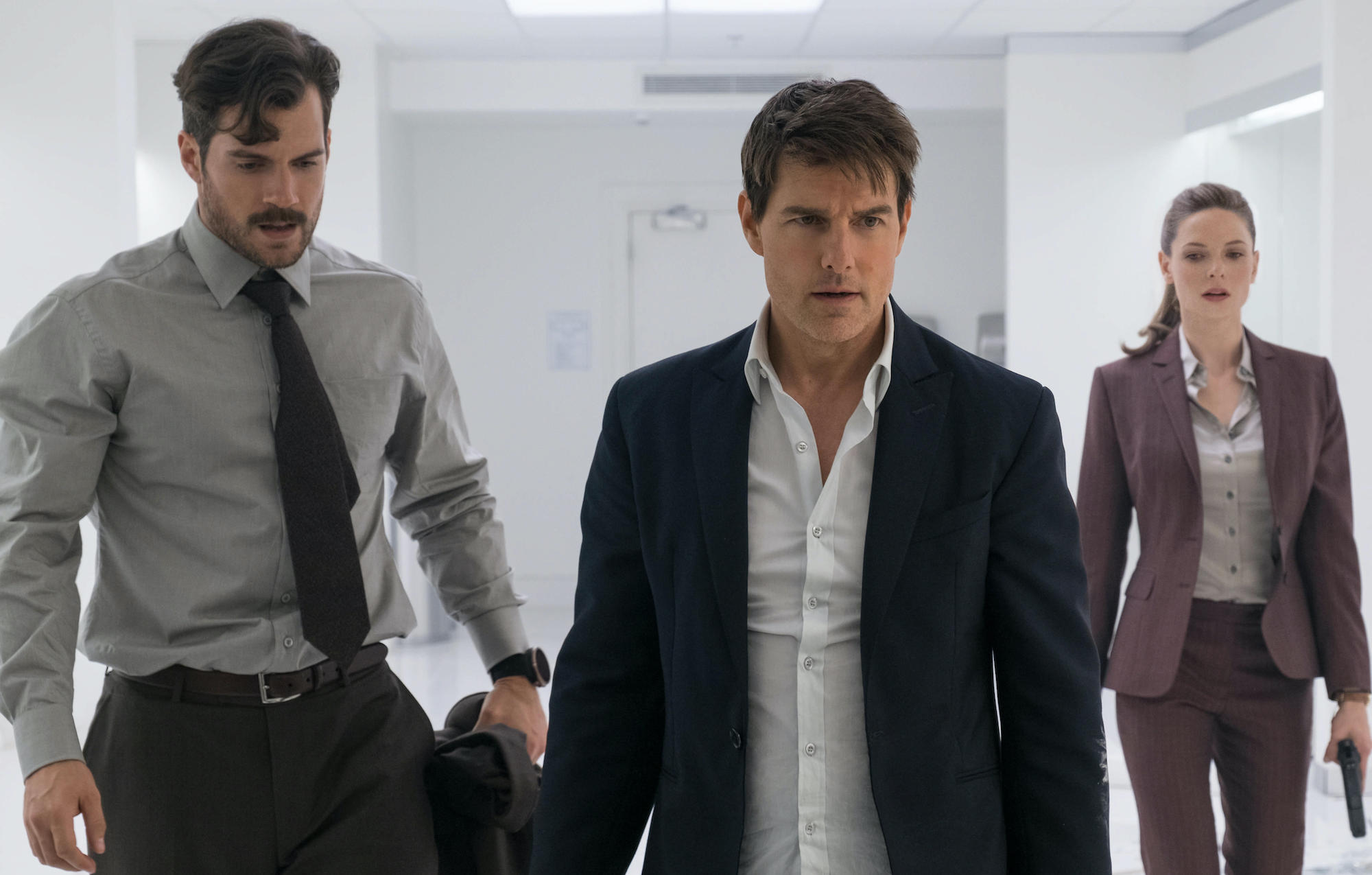 Mission: Impossible Fallout, Tom Cruise, Henry Cavill, Rebecca Ferguson