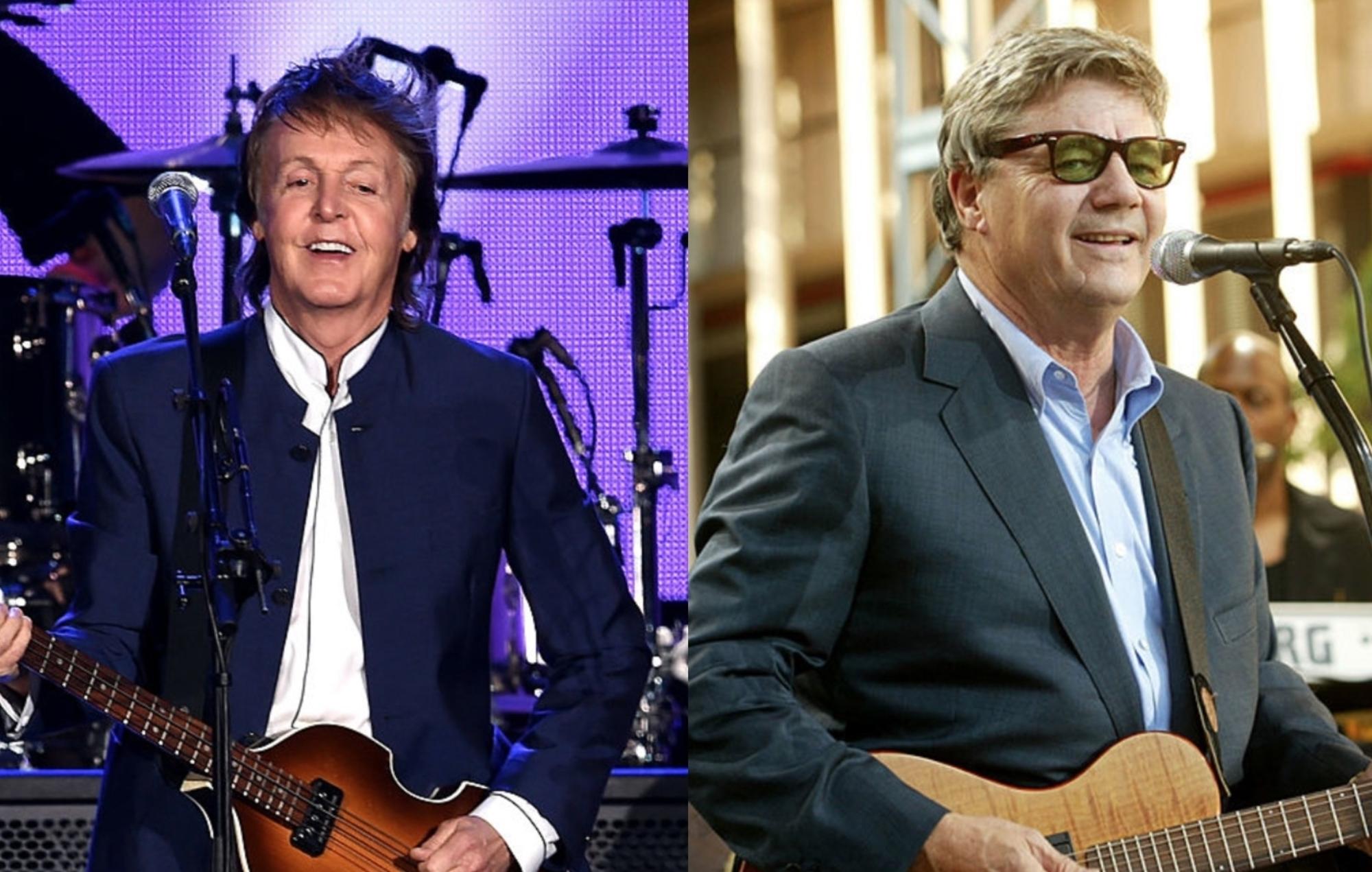 Paul McCartney and Steve Miller