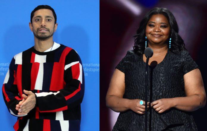 Riz Ahmed and Octavia Spence
