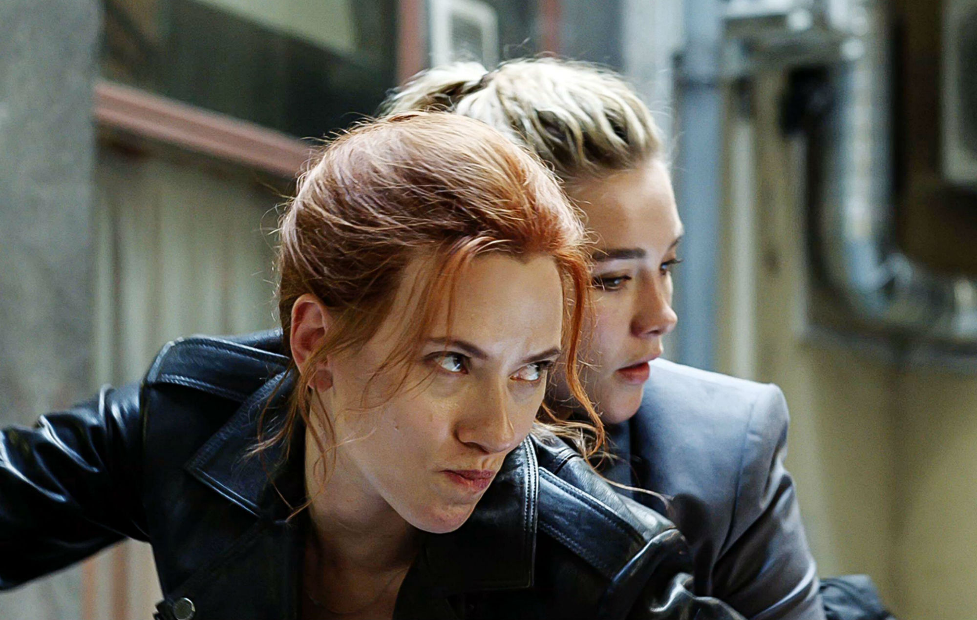 Scarlett Johansson and Florence Pugh shot 'Black Widow' with pneumonia