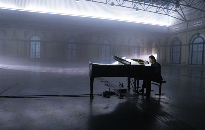 Nick Cave to stream new 'Idiot Prayer' solo show from Alexandra Palace. Credit: Joel Ryan