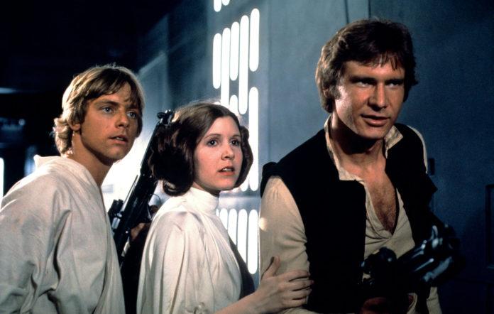 Star Wars Mark Hamill Harrison Ford