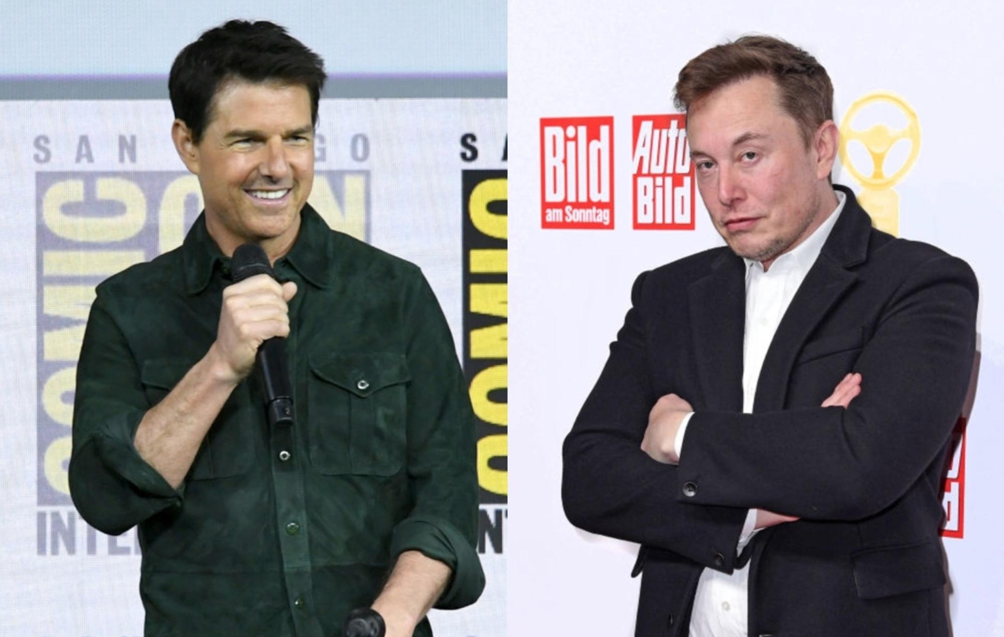 Tom Cruise and Elon Musk