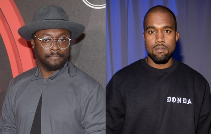 Will.i.am and Kanye West
