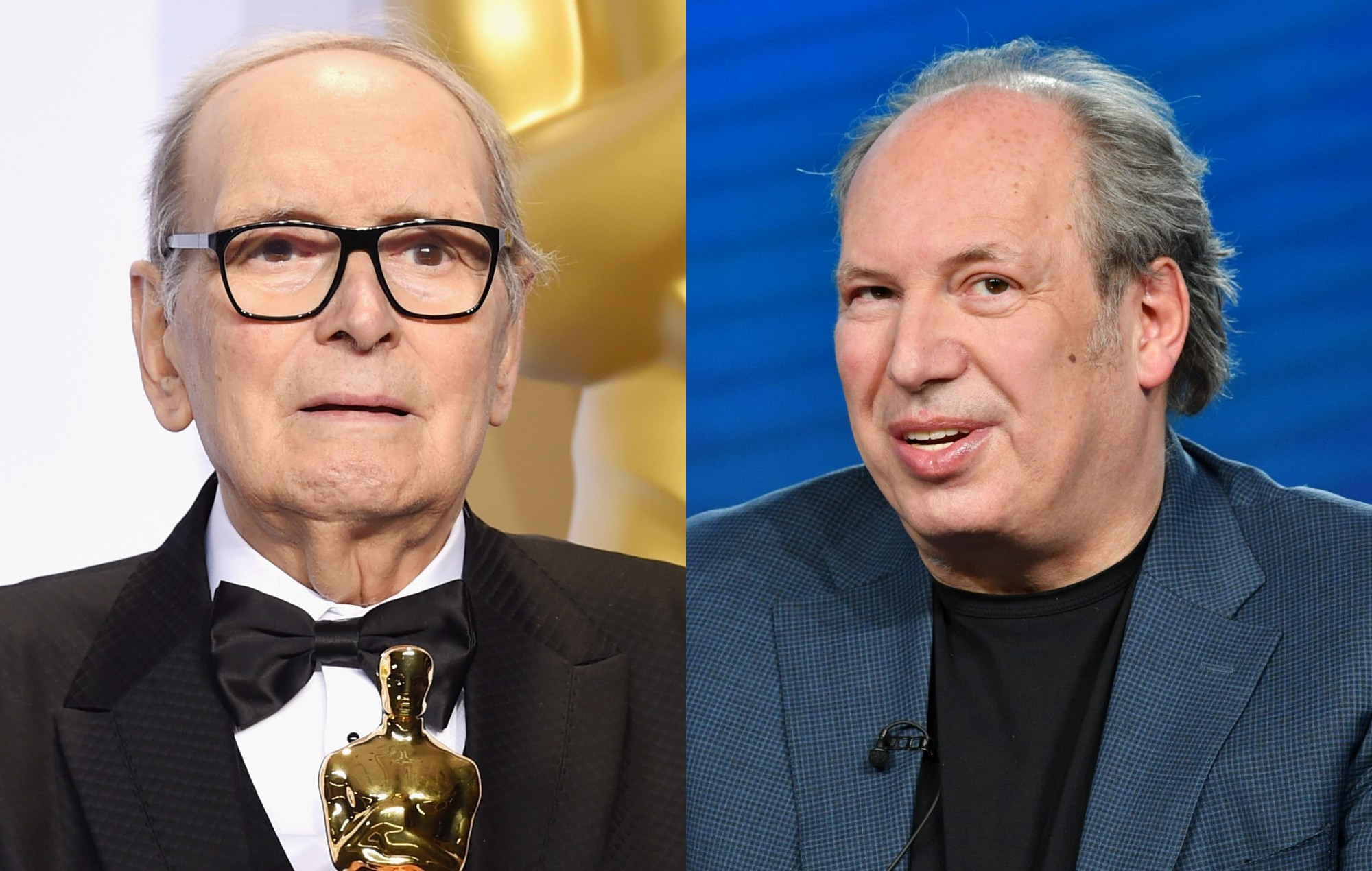 """Hans Zimmer pays tribute to Ennio Morricone: """"He taught me that the simplest melody is the hardest"""""""