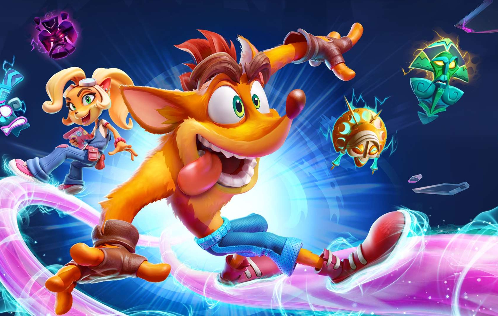 Check out two new local multiplayer modes for 'Crash Bandicoot 4' - NME