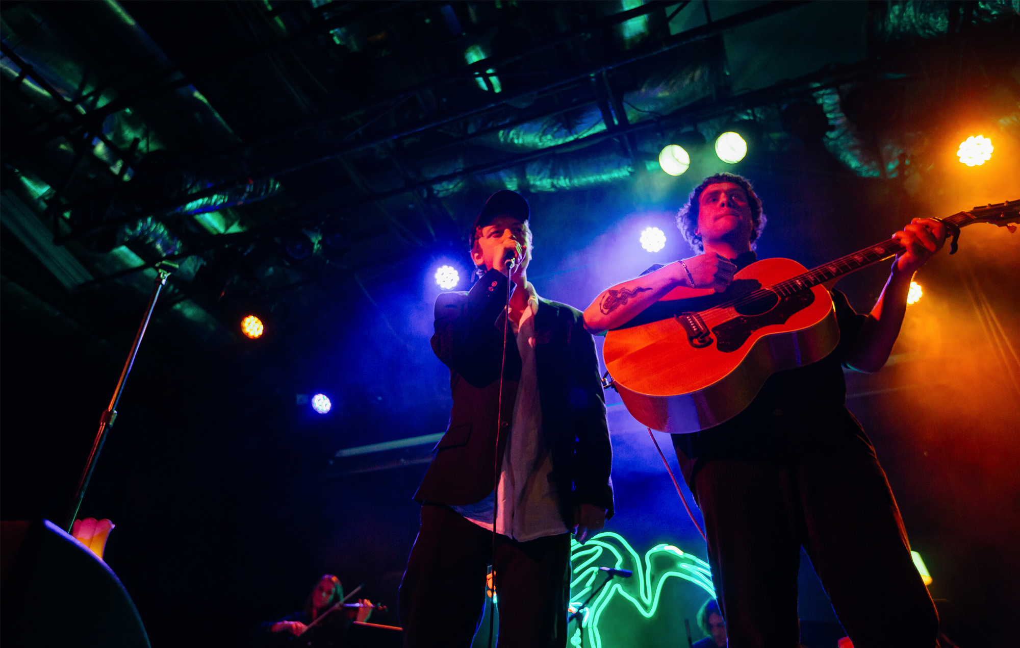 DMAS Unplugged Intimate socially distanced show Sydney Factory Theatre review