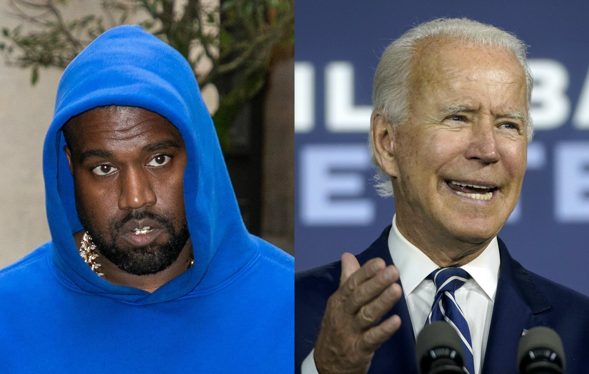 Kanye West, Joe Biden
