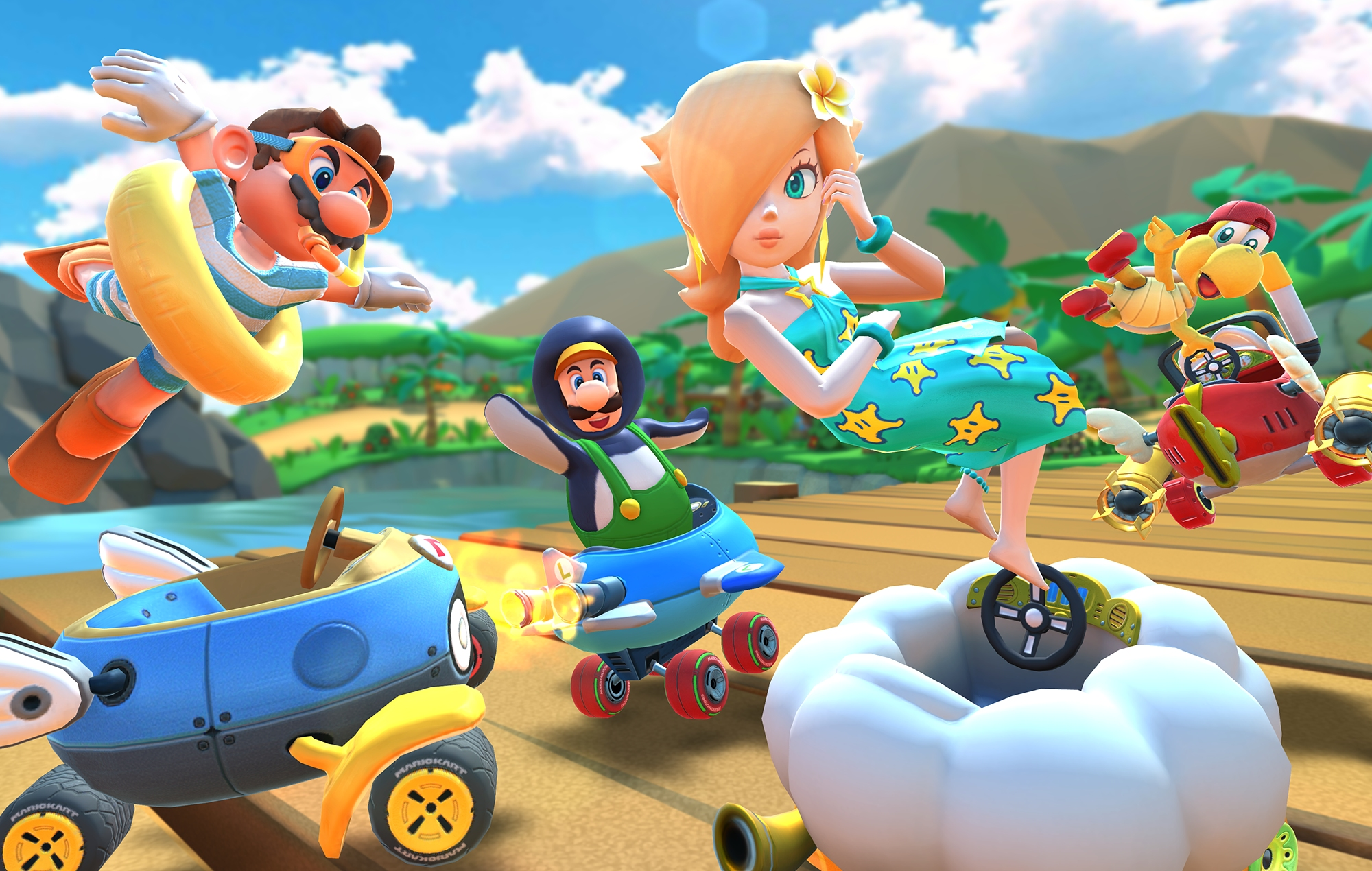 Nintendo Finally Adds Landscape Mode To Mario Kart Tour In New