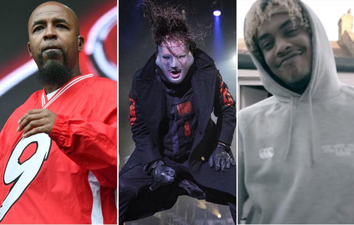 Tech N9ne, Slipknot's Corey Taylor and Kid Bookie