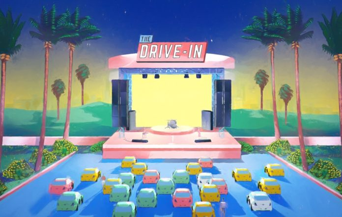 the drive in image supplied