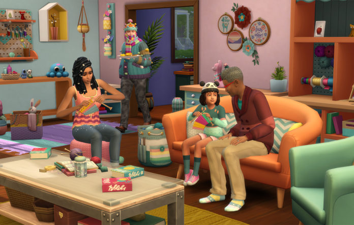 The Sims Nifty Knitting Stuff Pack